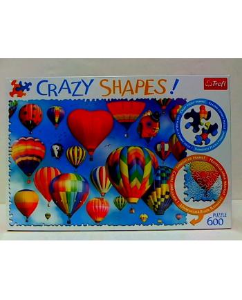 trefl Puzzle 600 Crazy Shapes KOLOROWE BALONY 11112.