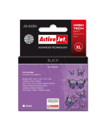 ActiveJet AB-900BK tusz czarny do drukarki Brother (zamiennik LC900BK)