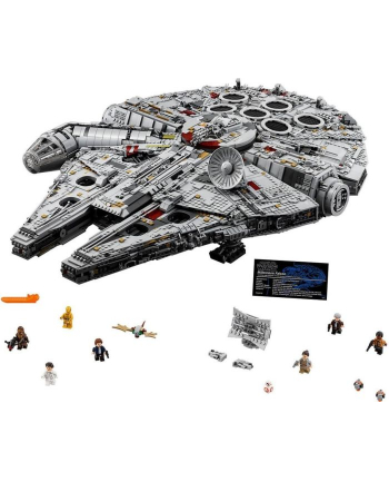 LEGO 75192 Star Wars Millenium Falcon Ultimate Collector Seria 7541 parts