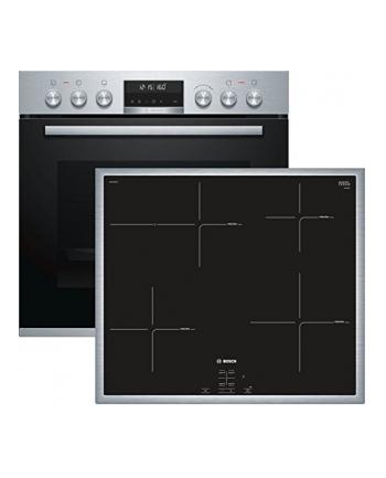 Bosch Stove HND675LS60 A silver - HEA5784S1 + NIF645CB1E