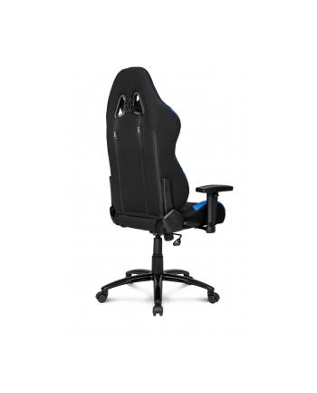AKRacing Core EX - kolor: czarny - Fotel gamingowy/niebieski