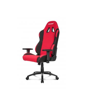 AKRacing Core EX-WIDE - czerwony/kolor: czarny - Fotel gamingowy