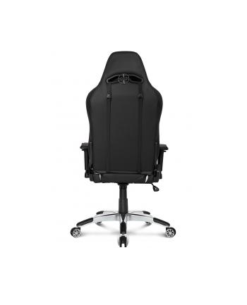 AKRACING Master PREMIUM - kolor: czarny - Fotel gamingowy/biały