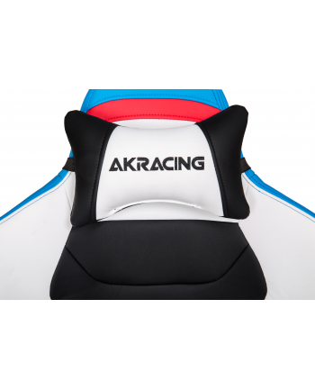AKRACING Master PREMIUM - white/blue
