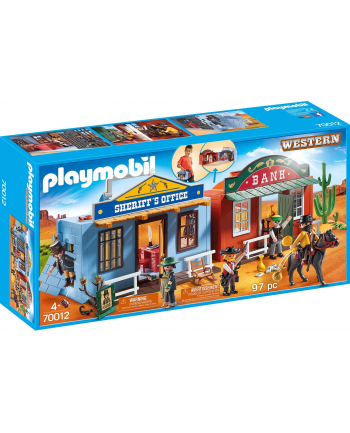 PLAYMOBIL 70012 Carrying Westerncity