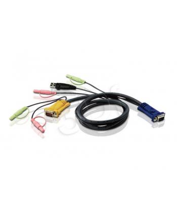 ATEN 2L-5303U Kabel HD15 - SVGA + mysz + klawUSB +  Audio 3.0m
