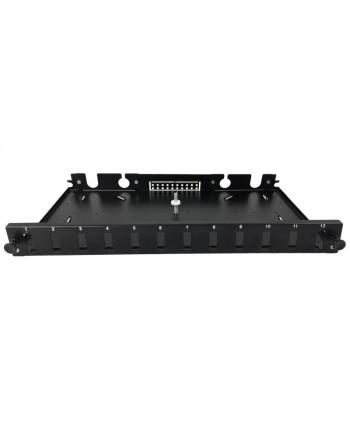 Przełącznica A-LAN FOP-1U-12SCD-C (kolor czarny)