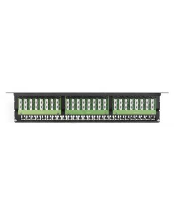 Patch panel A-LAN PK030 (1U; 19 ; kat. 6; UTP; 48xRJ-45)