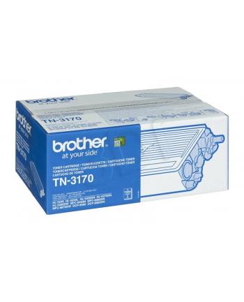 Toner Brother TN3170 (oryginał TN-3170; 7 000 stron; czarny)