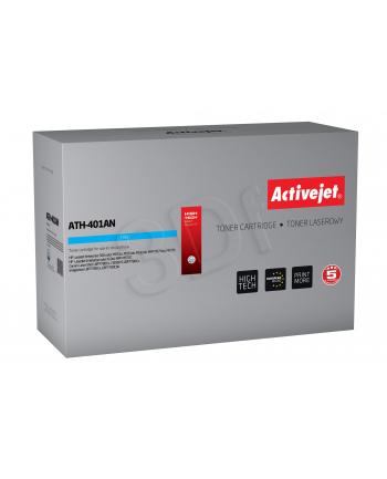 Toner Activejet ATH-401AN (zamiennik HP 507A CE401A; Premium; 6 000 stron; niebieski)