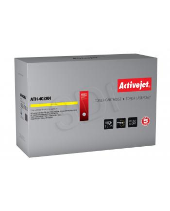 Toner Activejet ATH-402AN (zamiennik HP 507A CE402A; Premium; 6 000 stron; żółty)