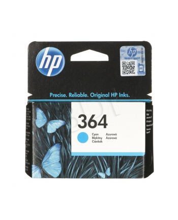 hewlett-packard Tusz HP CB318EE (oryginał HP364 HP 364; niebieski)