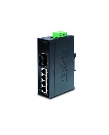 PLANET ISW-511 Switch Przemysłowy 4 x 10/100Mbps + 1 x FX  SC  MM do 2km