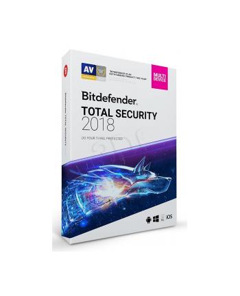 BIT DEFENDER Total Security (10 stan.; 36 miesięcy; Wersja cyfrowa)