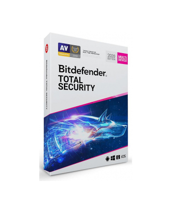 BIT DEFENDER Total Security (5 stan.; 36 miesięcy; Wersja cyfrowa)