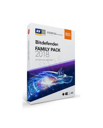 BIT DEFENDER Family Pack (Nieograniczona; 36 miesięcy; Wersja cyfrowa)