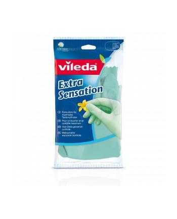Rękawiczki VILEDA ochronne (S zielony)
