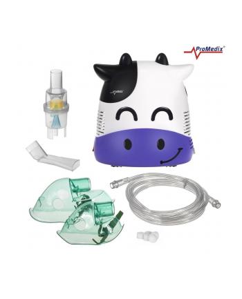Inhalator ProMedix Krówka PR-810 (kolor biały  kolor fioletowy)