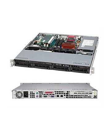 Obudowa serwerowa Rack Supermicro  CSE-813MFTQC-350CB (kolor czarny)