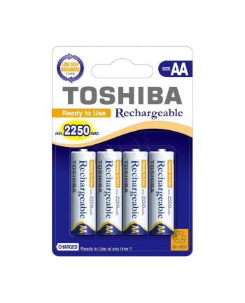 Akumulatorki niklowo-wodorkowe Toshiba TNH-6AC 4BP AA  2250mAh blister 4 szt.