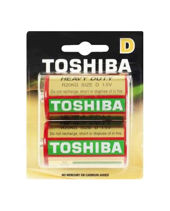 Baterie cynkowo-węglowe Toshiba R20KG R20KG BP-2TGTE SS (Zn-C)
