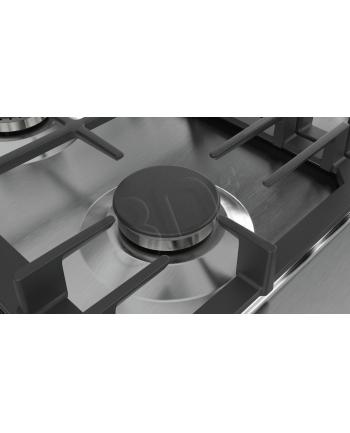 Płyty gazowa BOSCH PCP6A5B90 (4 pola grzejne; kolor srebrny)
