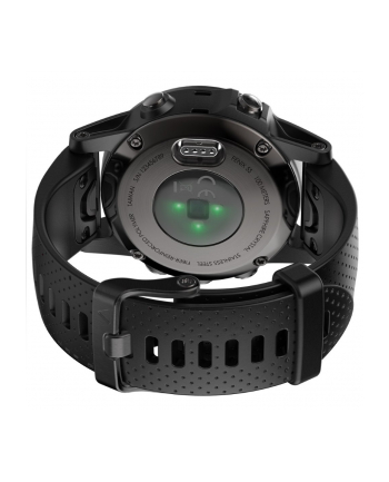 Zegarek sportowy Garmin Fenix 5S Sapphire 010-01685-11 (kolor szary)