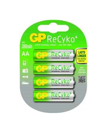 gp battery Akumulator GP 210AAHCBN-GB4  AA 1.2V 2000mAh
