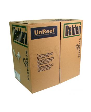 Kabel U/UTP Belden (  kat.5e PVC 305m drut szary  AWG 24 )