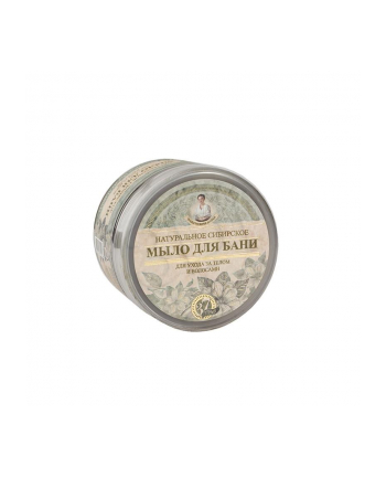 eurobio lab Mydło Receptury Babuszki Agafii ( 500ml ; Czarne ; Do ciała i włosów )
