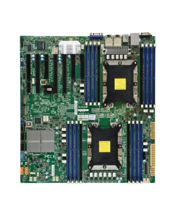 Płyta serwerowa Supermicro MBD-X11DPH-I-O ( LGA 3647 ; 16x DDR4 RDIMM ; Extended ATX )