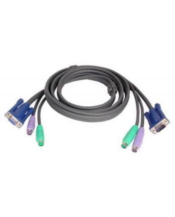 ATEN 2L-1001P/C Kabel 2x SVGA + klawPS + myszPS 1.8m
