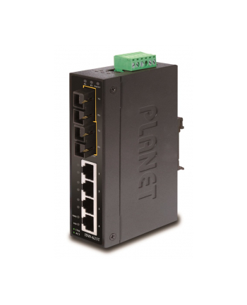 PLANET ISW-621TS15 SWITCH PRZEM. 4 -PORT+2-PORT15KM