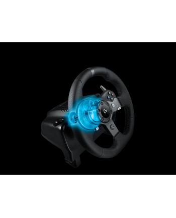 Kierownica Logitech G920 Driving Force 941-000123 ( PC Xbox One ; D-Pad podstawa z pedałami Force Feedback łopatki do zmiany biegów )