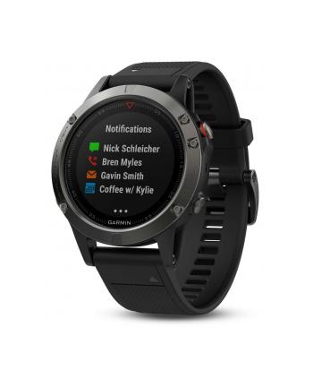 Smartwatch Garmin Fenix 5 Sapphire 010-01688-11 (kolor czarny)