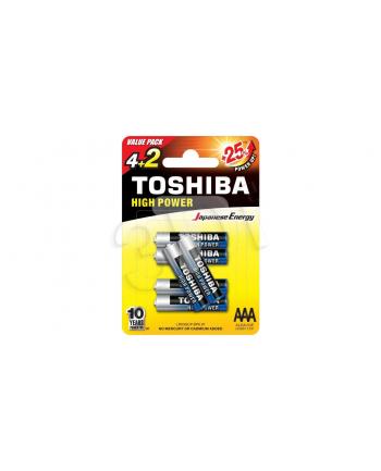 Baterie alkaliczne Toshiba LR03GCNP BP6 2F