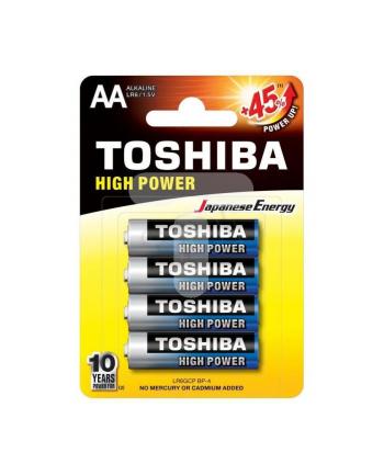 Baterie alkaliczne Toshiba LR6GCP BP-4