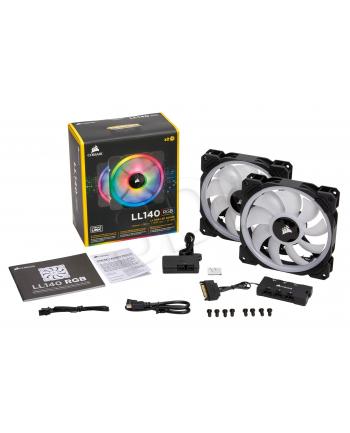 Wentylator Corsair LL140 RGB LED PWM 2x140mm