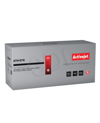 Toner Activejet ATH-87N (zamiennik HP 87A CF287A; Supreme; 9 000 stron; czarny)