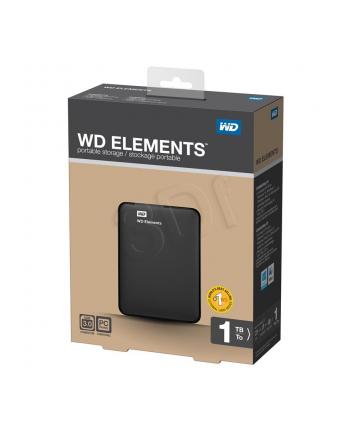 Dysk zewnętrzny HDD Western Digital Elements Portable WDBUZG0010BBK-WESN (1 TB; 2.5 ; USB 3.0; 5400 obr/min; czarny)