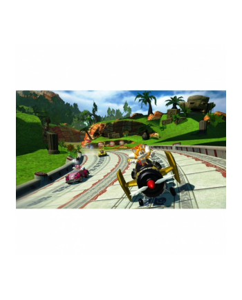 Gra Xbox 360 SONIC & SEGA ALL STARS RACING (wersja BOX; DVD; ENG; od 7 lat)