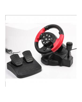 Kierownica GEMBIRD  STR-MV-02 (PC  PS2  PS3; kolor czarny)