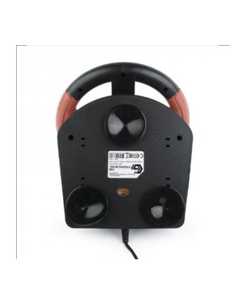 Kierownica        z wibracjami     GEMBIRD  STR-UV-01 (PC  PS3; kolor czarny)