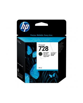 hewlett-packard Tusz HP F9J64A (oryginał HP728 HP 728; 69 ml; czarny matowy)