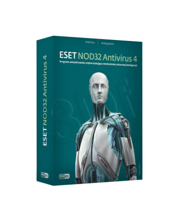 ESET NOD32 ANTIVIRUS 4.0 BOX - 1 STAN/24M