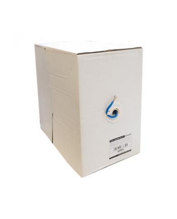 Kabel instalacyjny 4World 06558-BLU (F/UTP - F/UTP; 305m; UTP; kolor niebieski)