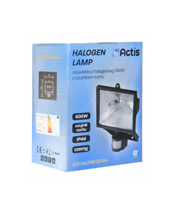 Naświetlacz ACTIS ACS-HALOPAK 500W+