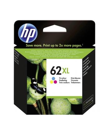 hewlett-packard Tusz HP C2P07AE (oryginał HP62XL HP 62XL; 11.5 ml; kolor)