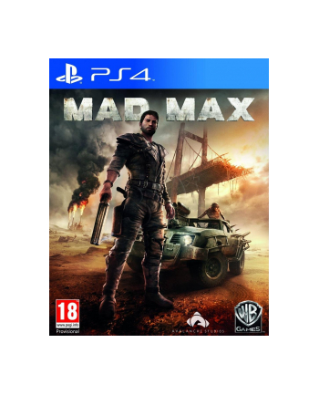 warner bros interactive Gra  Mad Max (wersja BOX; Blu-ray; PL - kinowa; od 18 lat)