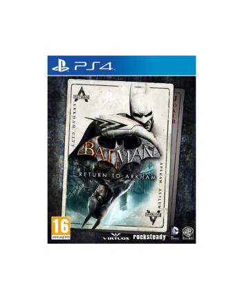 warner bros interactive Gra PS4 Batman Return To Arkham (wersja BOX; Blu-ray; PL - kinowa; od 16 lat)
